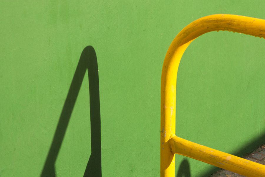 verde en el objetivo